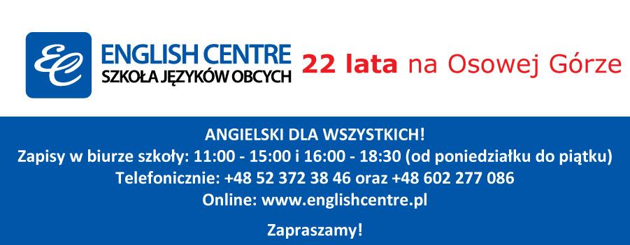 """Szkoła Języków Obcych """"ENGLISH CENTRE"""""""